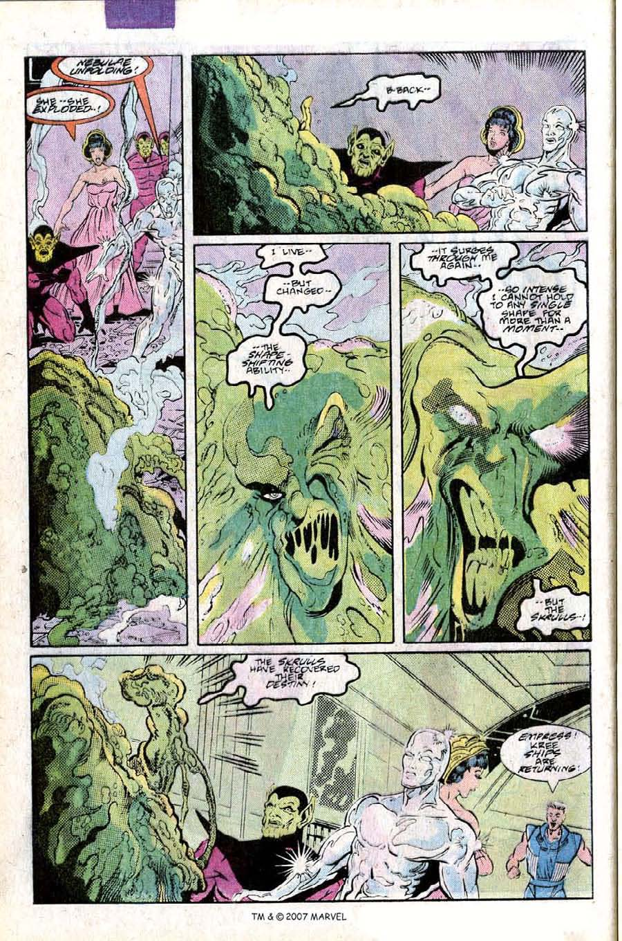 Read online Silver Surfer (1987) comic -  Issue #25 - 44