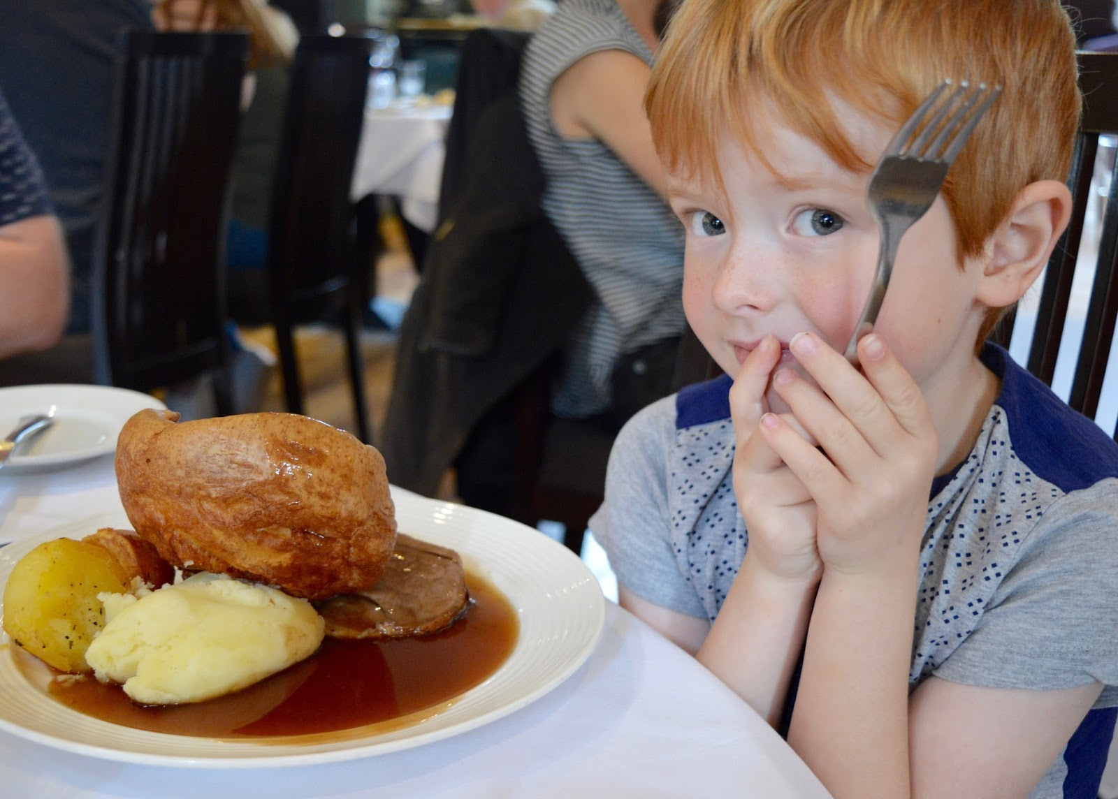 Family Sunday Lunch at The Cherry Tree Restaurant, Jesmond | A Review  - children's Sunday lunch