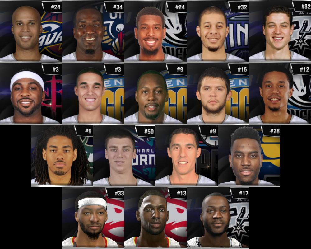 NBA 2K14 Med's 2015-16 Roster v2 8 – Aug 6, 2015 Update