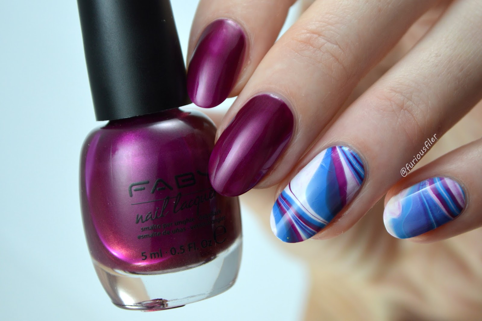 Water marble video tutorial featuring faby furious filer furious filer water marble faby video tutorial metallic prinsesfo Images