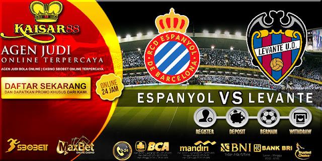 PREDIKSI TEBAK SKOR JITU ESPANYOL VS LEVANTE 16 SEPTEMBER 2018