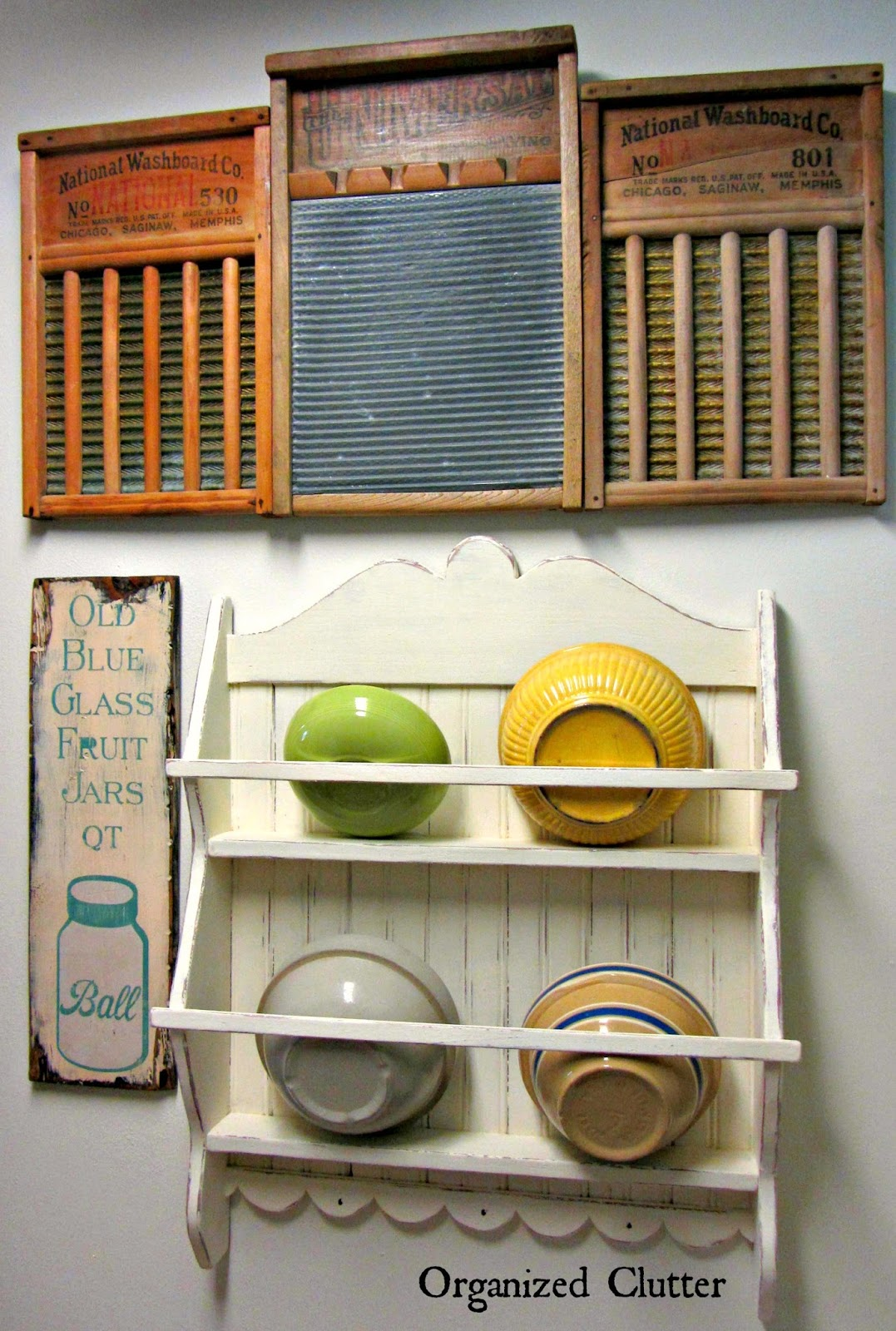 Updates In The Laundry Room www.organizedclutterqueen.blogspot.com