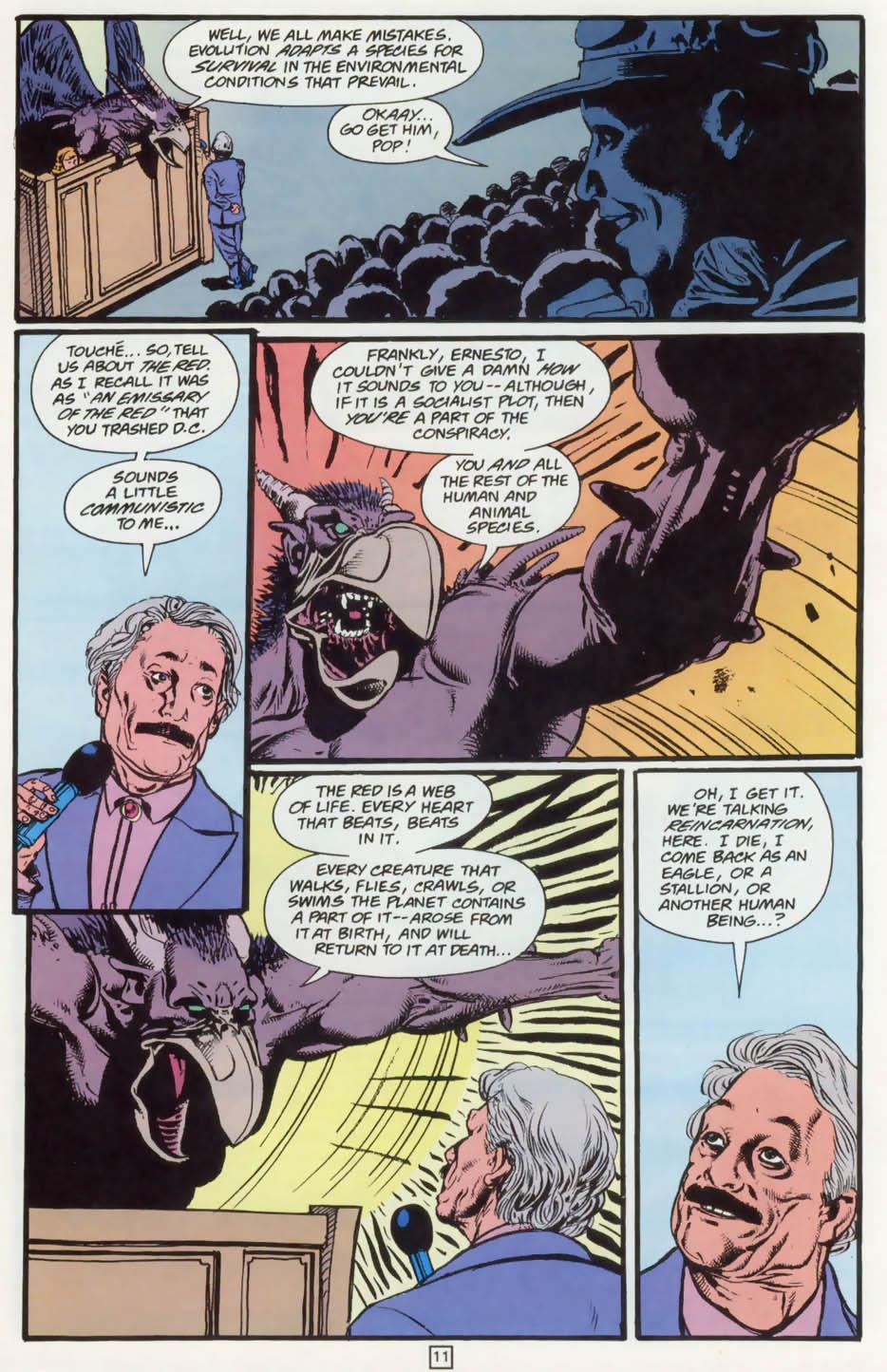 Read online Animal Man (1988) comic -  Issue #73 - 12