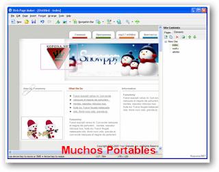 Web Page Maker Portable
