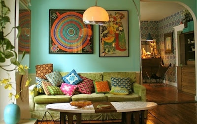 framed+tapestry - Hippie Tapestry Decor