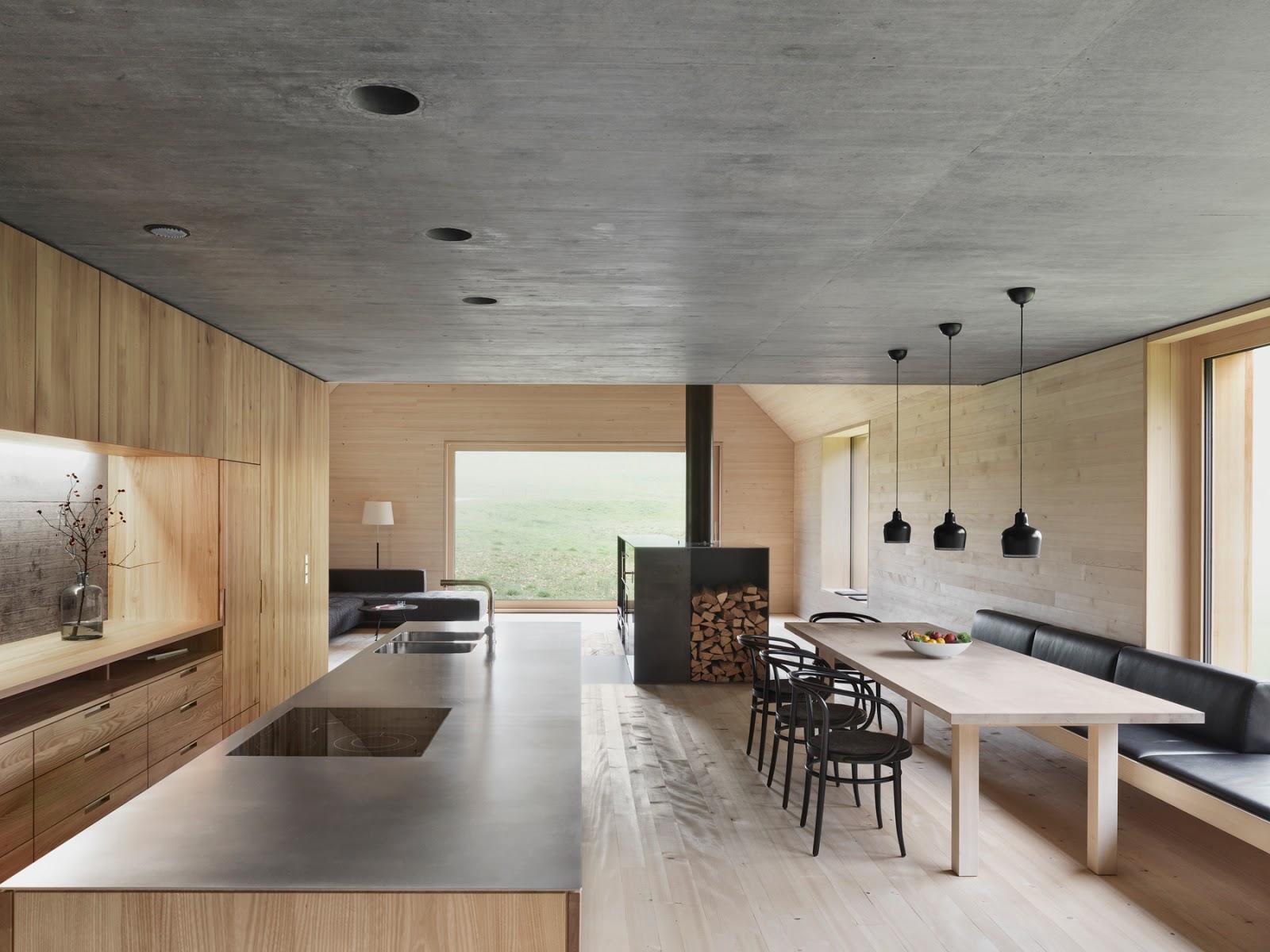 leuchtend grau interior magazin celebrating soft minimalism helles holz k hler beton. Black Bedroom Furniture Sets. Home Design Ideas