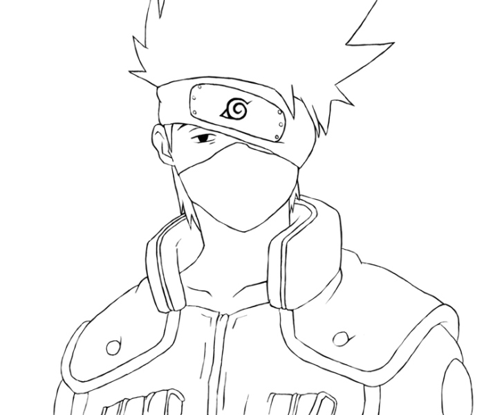 Gambar Sketsa Naruto Keren Wwwpicswecom
