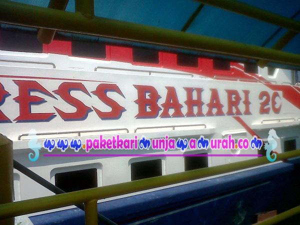 failitas kapal express karimunjawa