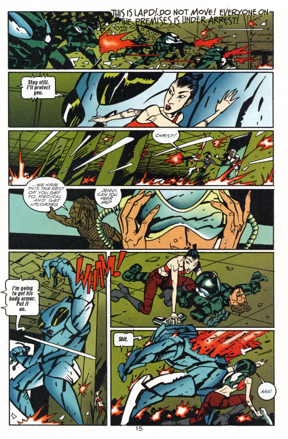 Read online Accelerate comic -  Issue #4 - 18