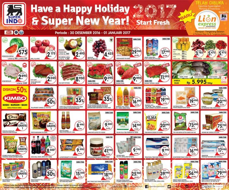 Katalog Promo Nusantara Katalog Promo Nusantara Superindo Weekend 30 Desember 2016 1 Januari 2017