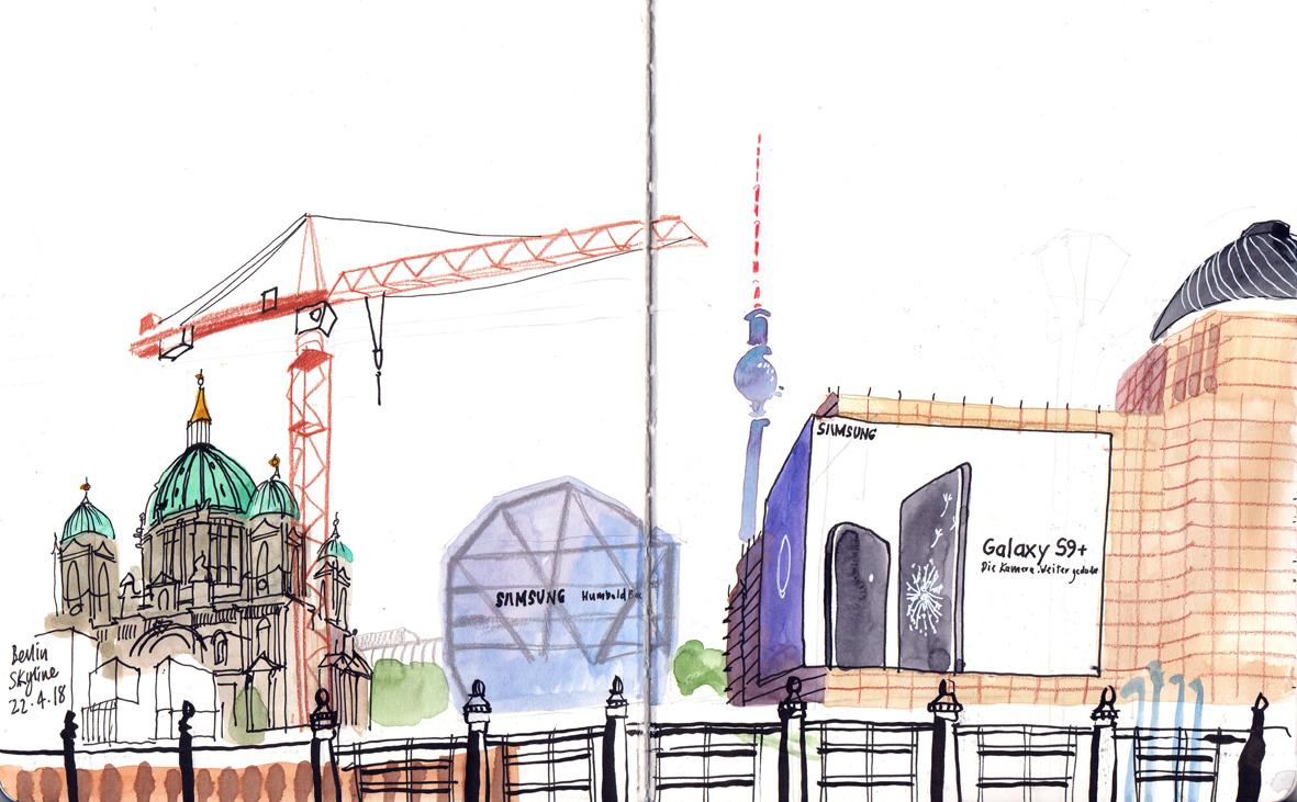 Drawing Museum Island | Urban Sketchers