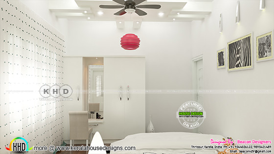 Light bedroom design