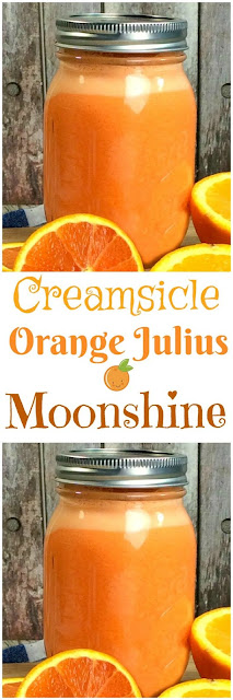 Orange Creamsicle Moonshine