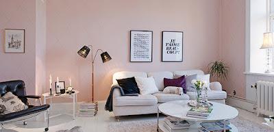 Los tonos rosa son parte de las tendencias del 2018 para el otoño - invierno.