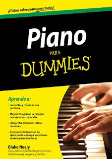 Libro en pdf Piano para Dummies Blake Neely