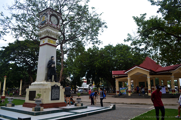One morning at Quezon Park, Dumaguete