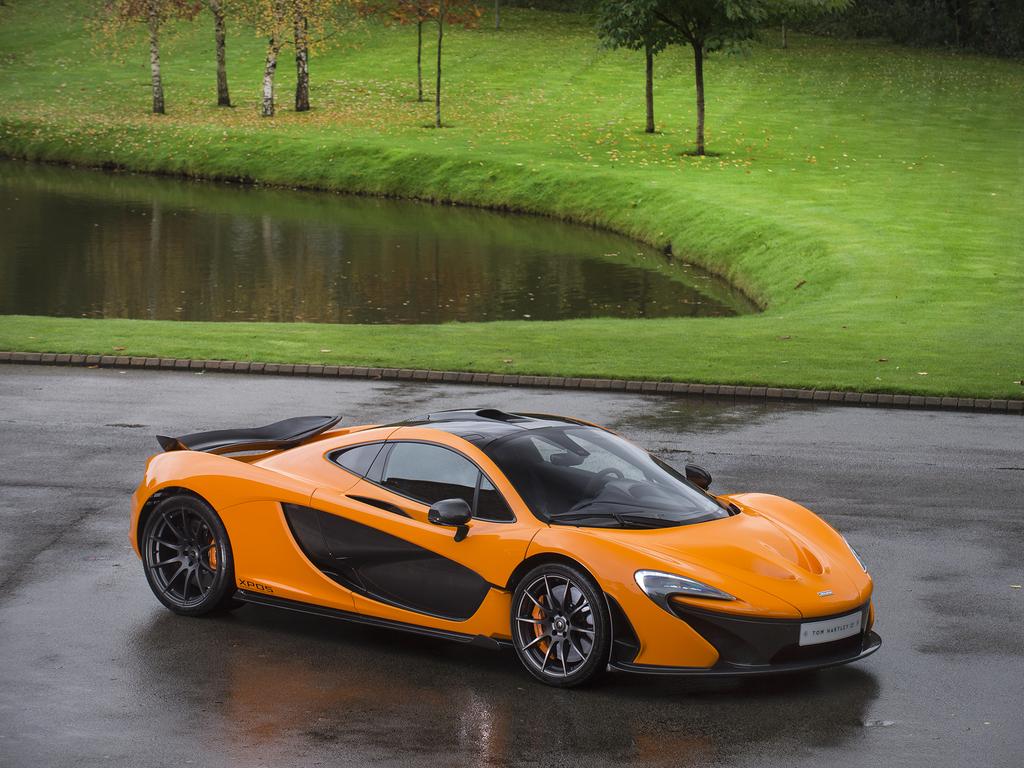 Mclaren P1 Orange >> Rare McLaren P1 Experimental Prototype Was Once A P1 GTR   Carscoops