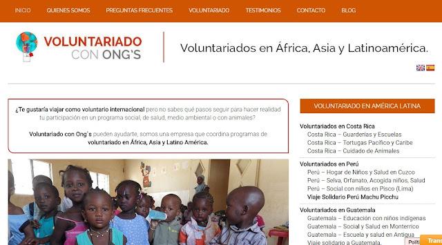 voluntariado africa asia latinoamerica