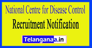 National Center for Disease Control NCDC Recruitment Notification 2017