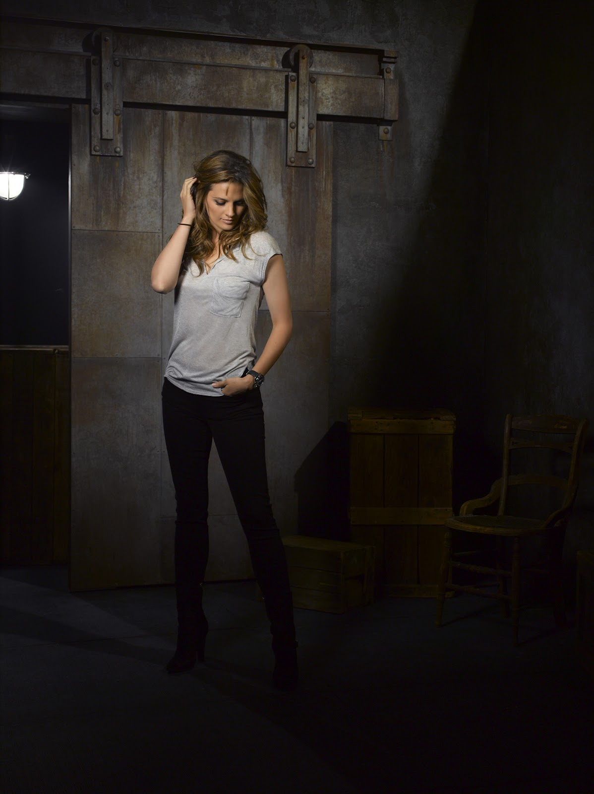 Stana Katic hot images Castle Season 5 - Wallpapers For ...