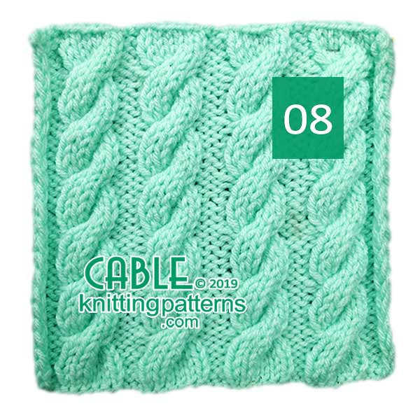 Cable Knitting Pattern 08