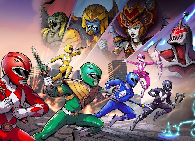 Saban's Mighty Morphin Power Rangers Mega Battle review