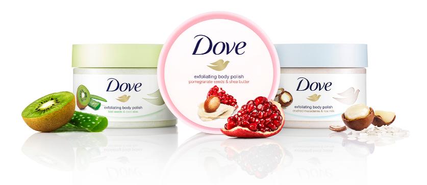 Pammy Blogs Beauty Exfoliate And Nourish Skin With New Dove Exfoliating Body Polish
