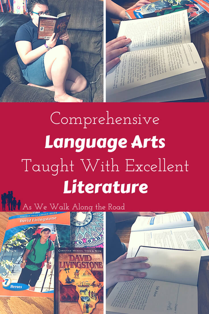 Comprehensive language arts curriculum