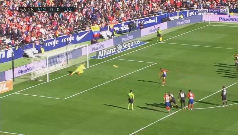 فيديو : اتليتكو مدريد يفوز على ليفانتي بهدف دون رد الاحد 13-01-2019 الدوري الاسباني