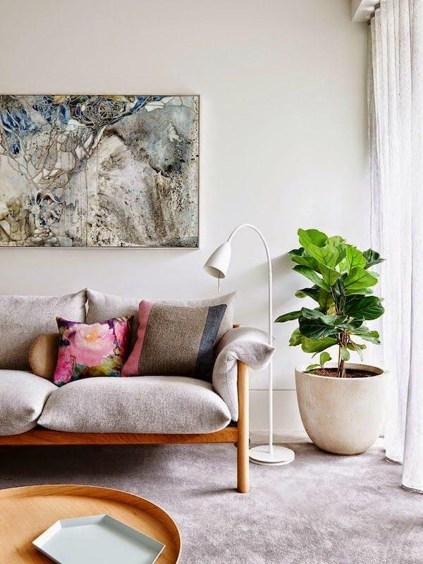 25 ideas de decoracin de salas que poner al lado del sofa