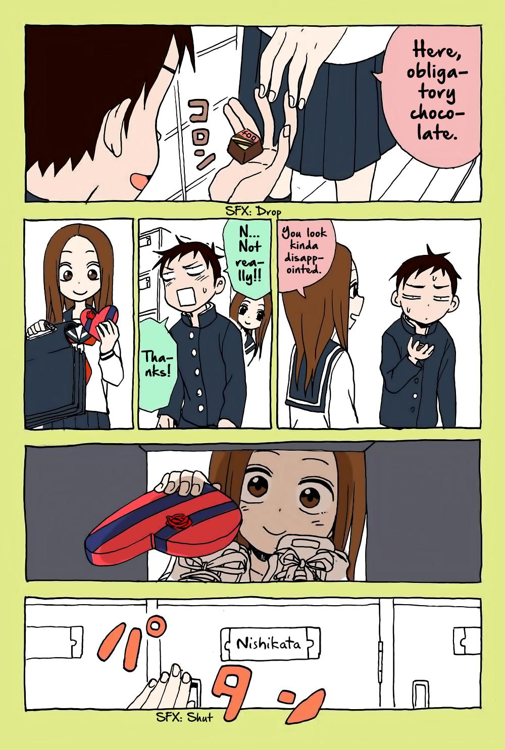 Karakai Jouzu no Takagi-san - Chapter 23