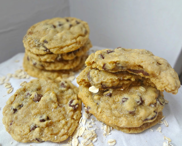 "Adapted from Cookie and Kate's ""Whole Grain Chocolate Chip Cookies&q..."