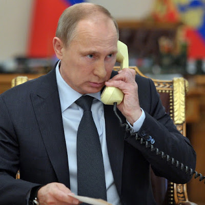 Vladimir Putin had a telephone conversation with Angela Merkel and Francois Hollande.