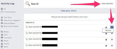 How Do I View (And Clear) My Facebook Search History?