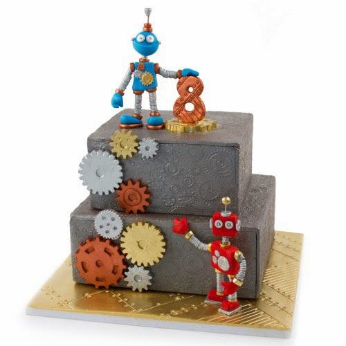 Cake Decorating Robot