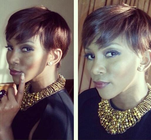 Genevieve Nnaji Tries New Hairstyle-1584