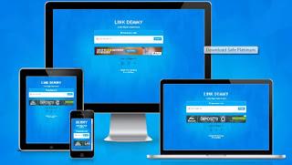Download Template Safelink Blogger Responsive - Safe Platinum