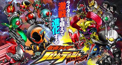 Download Kamen Rider Battle Rush v 1.1.2 Apk for Android Terbaru