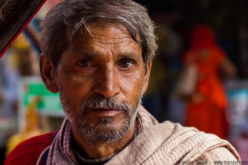 Street Portrait, Jaipur.