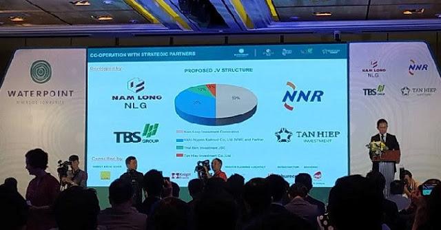 Nam Long cùng Nishi Nippon Railroad, TBS Group và Tân Hiệp đầu tư vào Long An