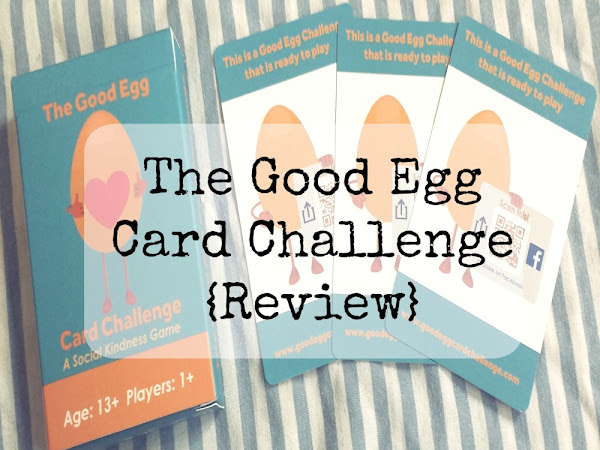 The Good Egg Card Challenge - A Social Kindness Game {Review}