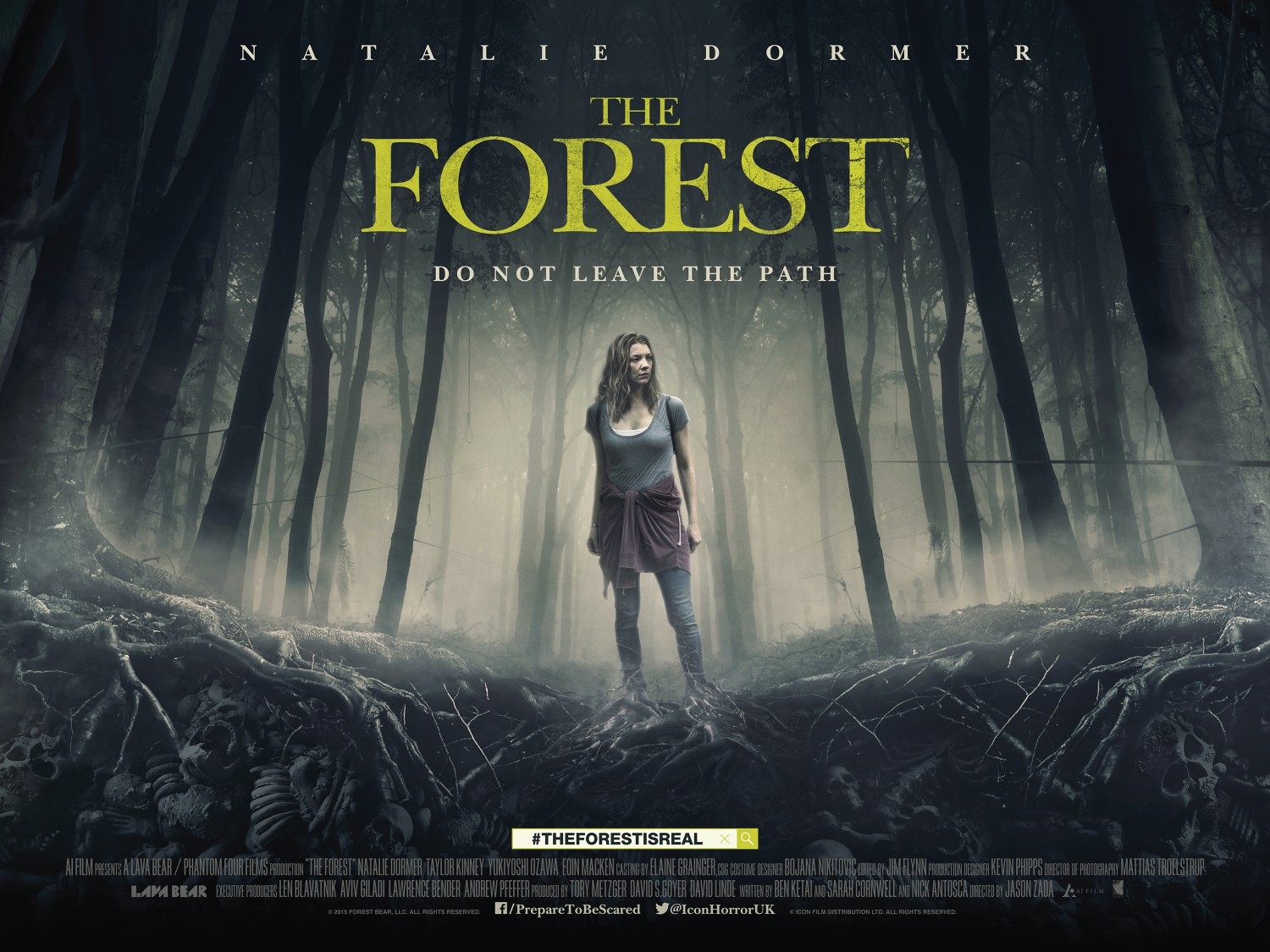 Horror and Zombie film reviews | Movie reviews | Horror Videogame reviews: The Forest (2016 ...