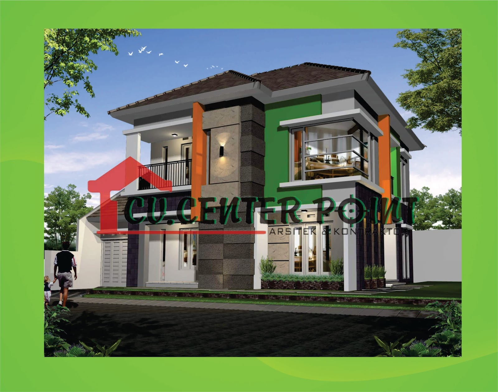 57 Desain Rumah Panggung Modern Terlengkap Parkiran Desain