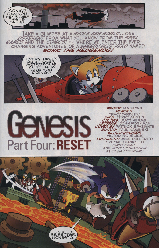 Read online Sonic The Hedgehog comic -  Issue #229 - 3