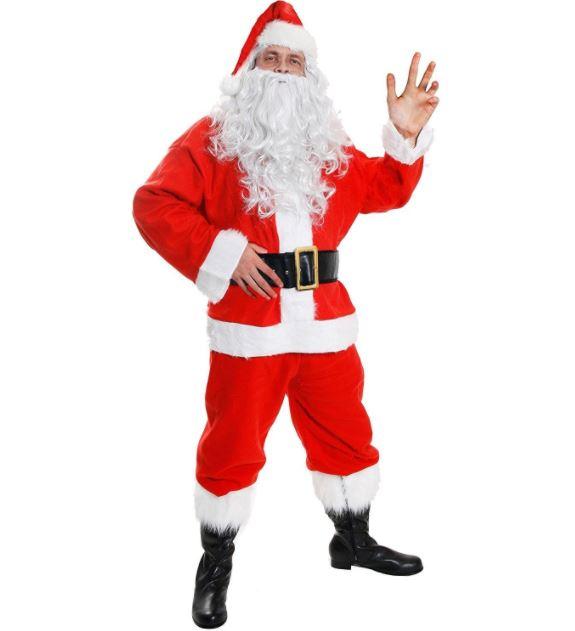 Santa Claus Costume Suit Outfit Image