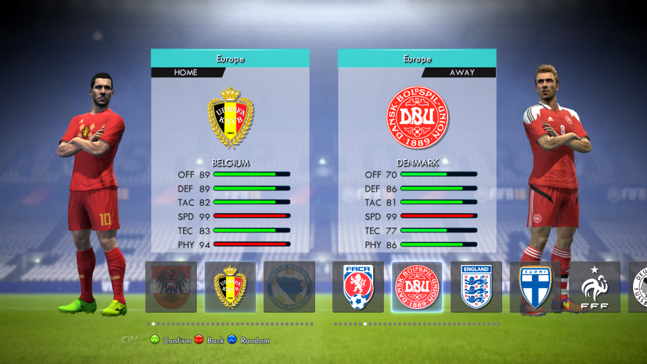 PES 2013 R-Patch Update 3.0 FIFA World Cup Qualification Edition 2018