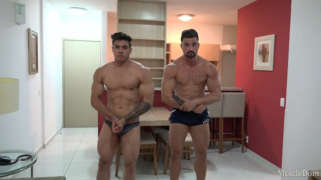 MuscleDom - Alex and Steve
