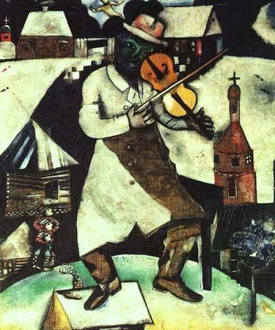 O Violinista - O Surrealismo glorioso de Marc Chagall