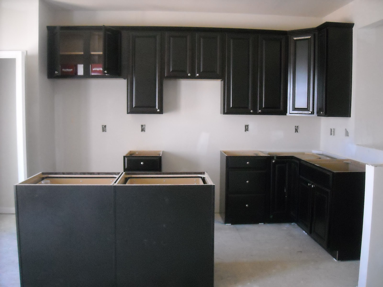 Building a Mozart with Ryan Homes We have cabinets