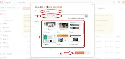 Tutorial Lengkap Membuat Blog